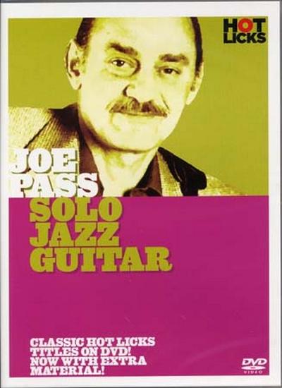 Dvd Pass Joe Solo Jazz Guitar (Francais)