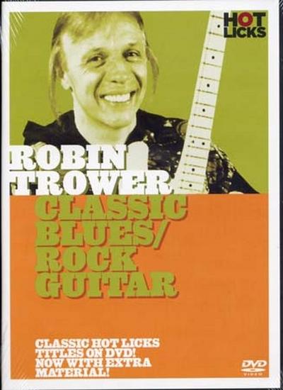 Dvd Trower Robin Classic Blues/Rock Guitar (Francais)