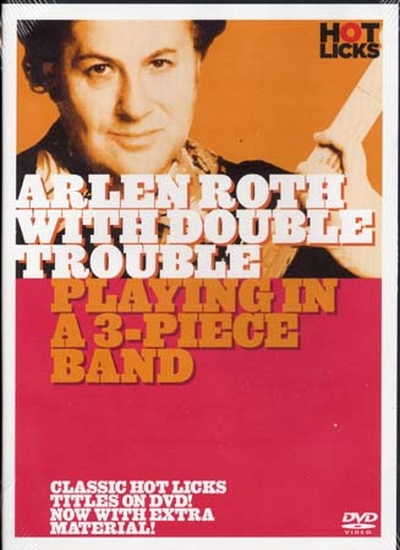 Dvd Roth Arlen Playing In A 3 Piece Band W/ Double Trouble (Francais)