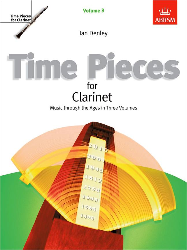 Time Pieces For Clarinet Vol.3 (Abrsm)