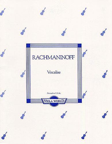 Rachmaninoff Vocalise Alto / Po