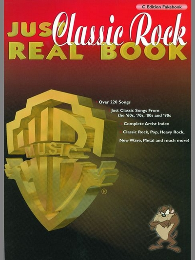 Just Classic Rock Real Book - C Edition