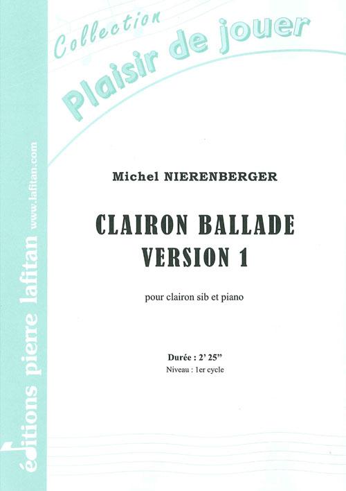 Clairon Ballade - Version 1