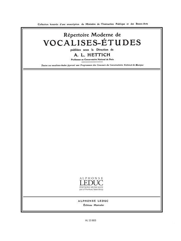 Vocalise Etude N011