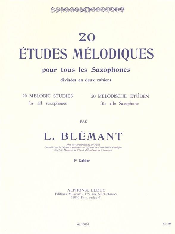 20 Etudes Melodiques Vol.1