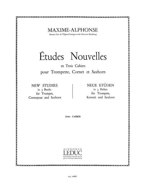 Etudes Nouvelles Vol.2 : 20 Etudes Tres Difficiles Cornet