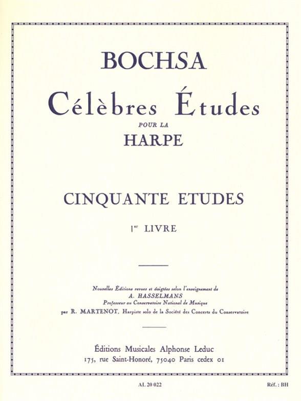 50 Etudes Op. 34 Vol.1 Harpe
