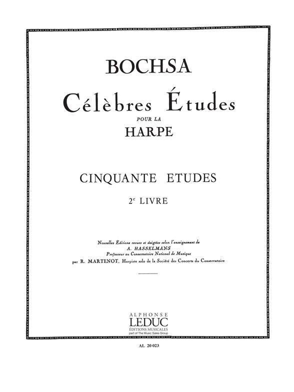 50 Etudes Op. 34 Vol.2 Harpe