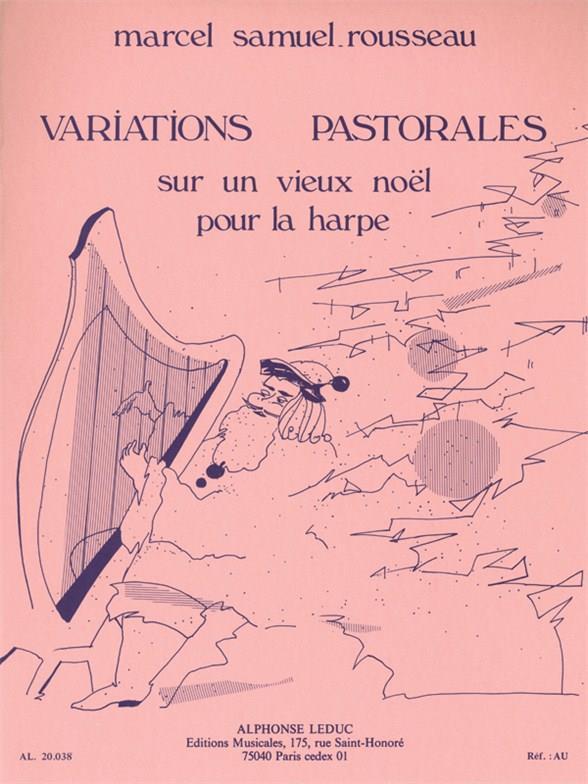 Variations Pastorales Sur Un Vieux Noel Harpe