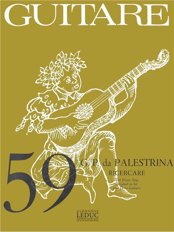 Classique Guitare N0059 Ricercare Del Primo Tono 2 Guitares