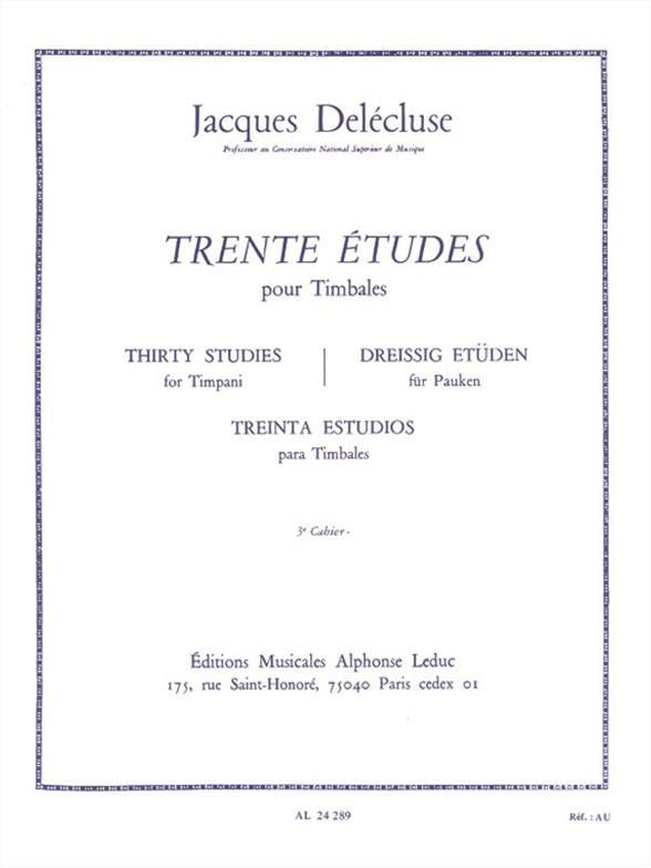 30 Etudes Vol.3