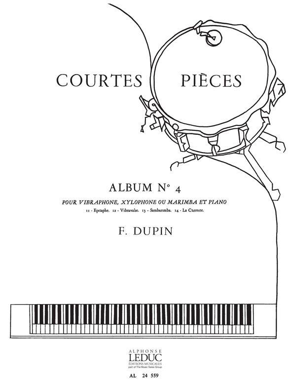 Courtes Pieces Vol.4:Vibraphone Xylophone Ou Marimba Et Piano