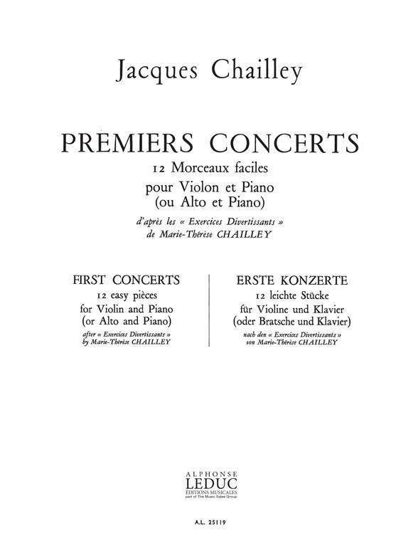 Premiers Concerts