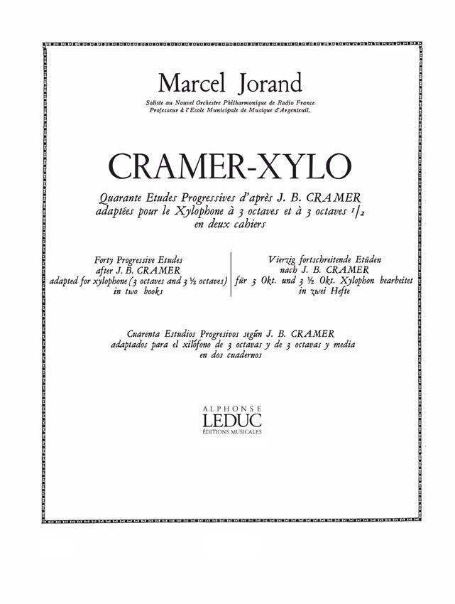 40 Etudes D'Apres Cramer Vol.1
