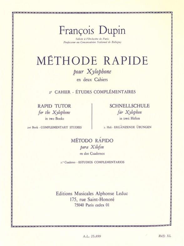 Méthode Rapide Pour Xylophone Vol.2