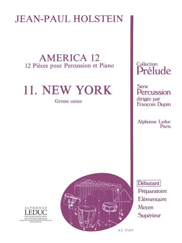America 12 11-New-York/Grosse Caisse Et Piano Coll.Prelude