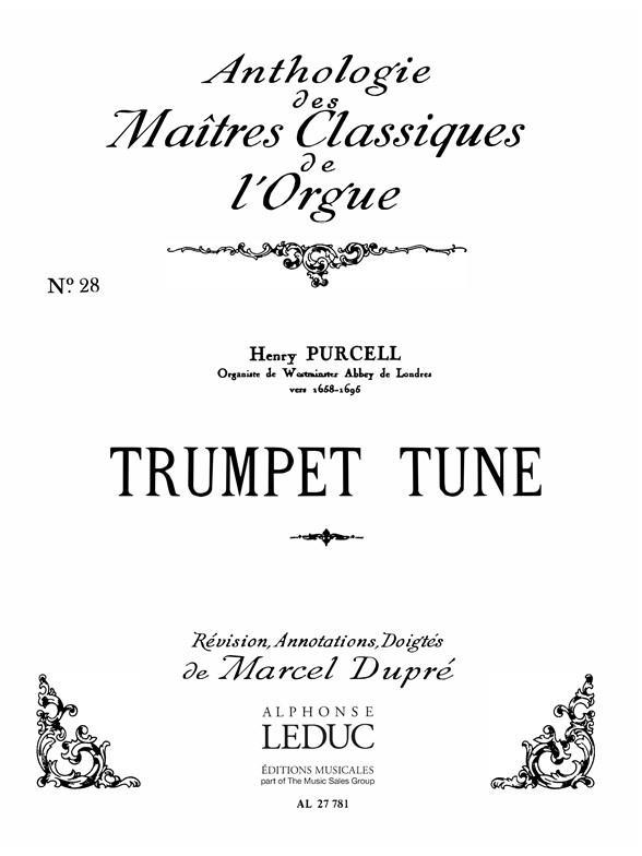 Trumpet Tune Clas N028/Orgue