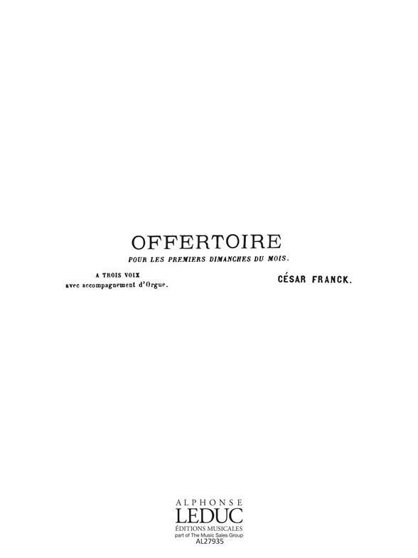Domine Deus In Simplicitate Offertoire Pour Les 1er Dim/3 Voixstb S/Acct