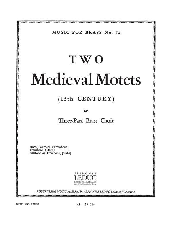 2 Medieval/Motets