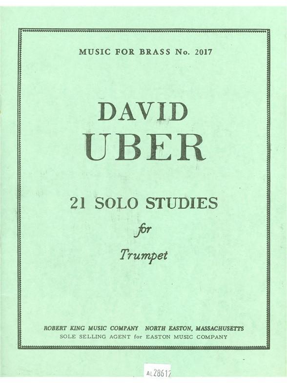 21 Solo Studies