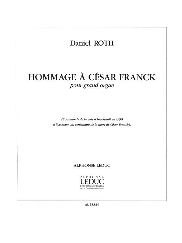 Hommage A Cesar Franck