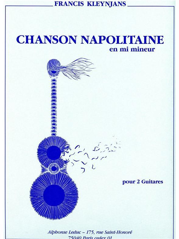Chanson Napolitaine En Mi Mineur/2 Guitares