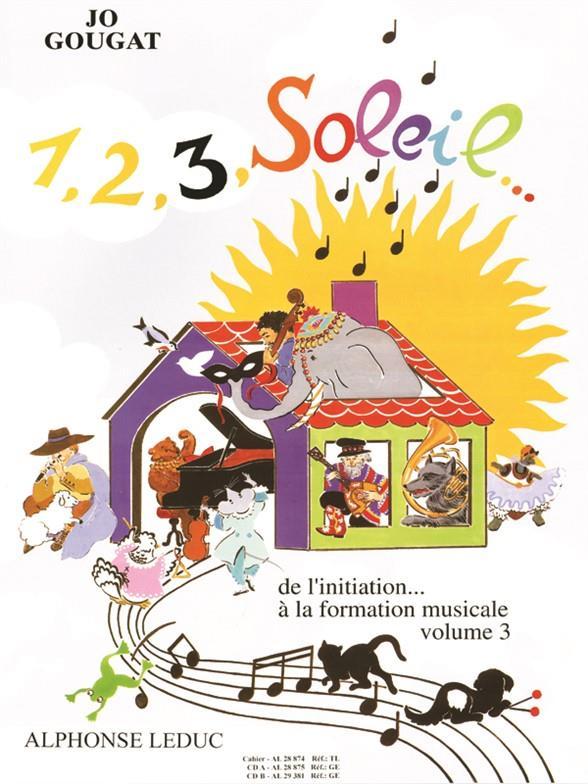 1, 2, 3, Soleil De L'Initiation A La Form.Mus. - Vol.3