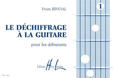Déchiffrage A La Guitare Vol.1
