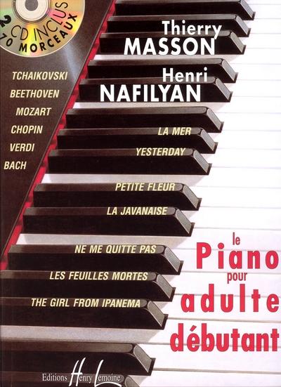 Piano Pour Adulte Débutant Avec 2 Cd's