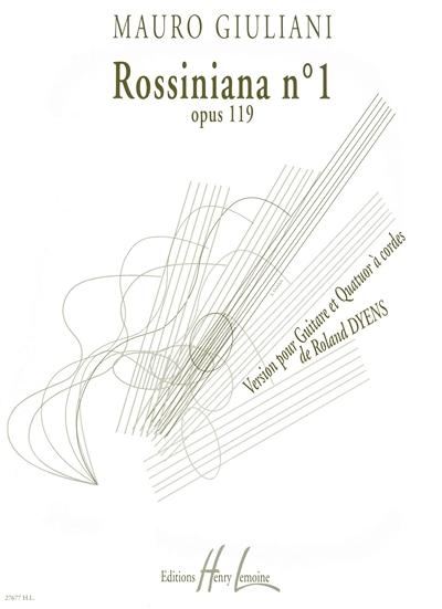 Rossiniana #1 D'Après Mauro Giuliani
