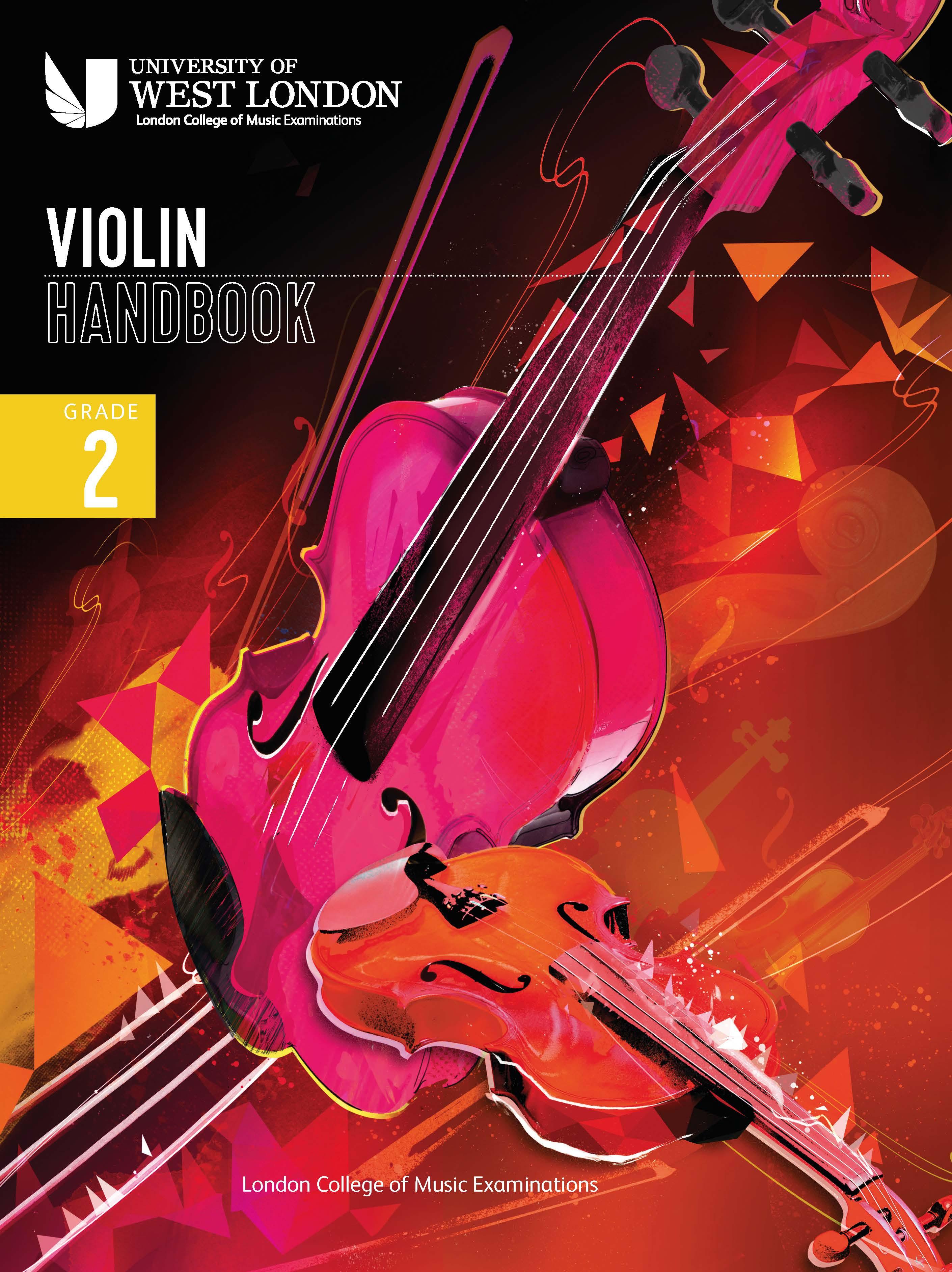 London College of Music Violin Handbook 2021: Grade 2