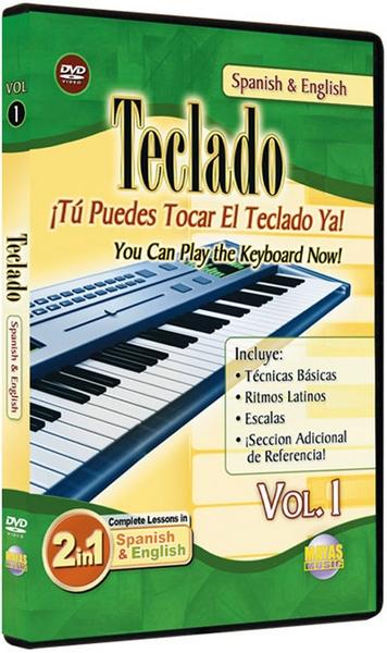 Teclado (Keyboard) Vol.1 Dvd, Spanish And English