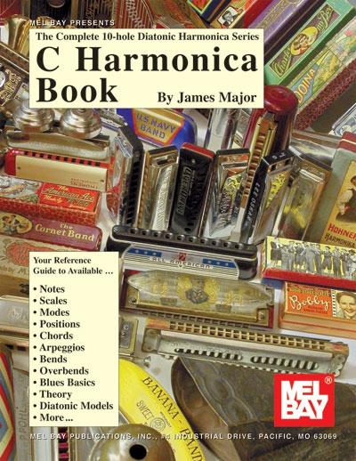Complete 10 - Hole Diatonic Harmonica Series : C HarmonicaBook