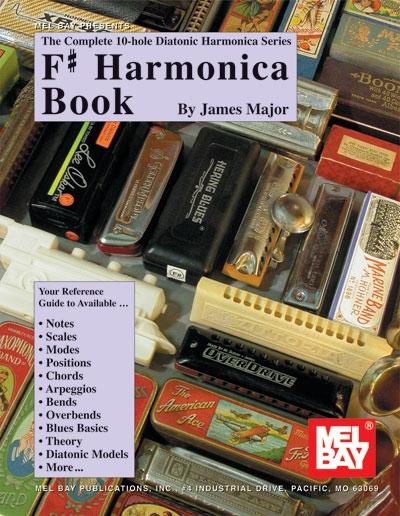 Complete 10 - Hole Diatonic Harmonica Series : F#