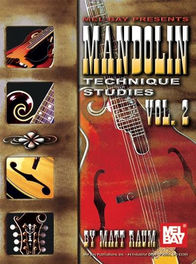 Mandolin Technique Studies, Vol.2