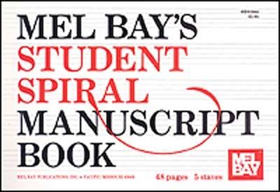 Student Spiral Manuscript Book 5