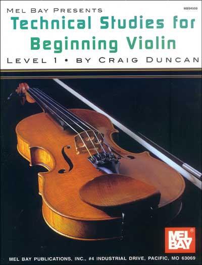 Technical Studies For Beginning Violin