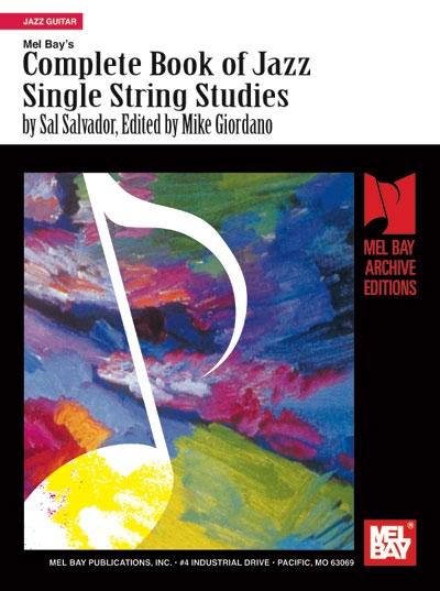 Complete Book Of Jazz Single-String Studies