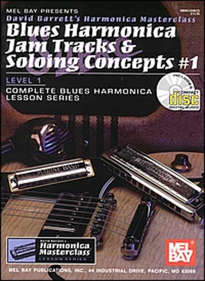 Blues Harmonica Jam Tracks And Soloing Concepts Vol.1