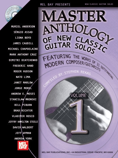 Master Anthology Of New Classic Guitar Solos Vol.1