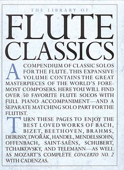 Library Of Flûte Classics