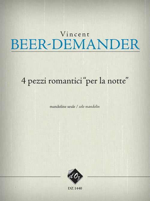 """4 Pezzi Romantici """"Per La Notte"""""""