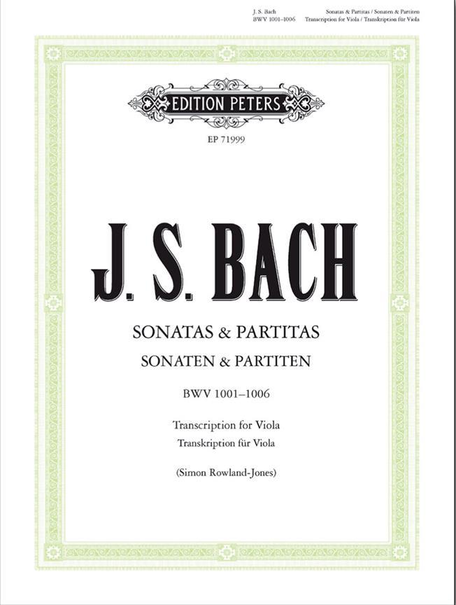 Sonatas And Partitas - Bwv 1001-1006 (Original Violin Solo)