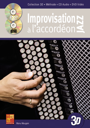 Improvisation Jazz A L'Accordéon En 3D
