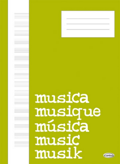 Music18 16/22X30 64Pag White