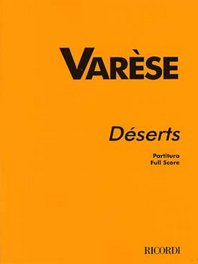 Deserts, For 15 Instruments