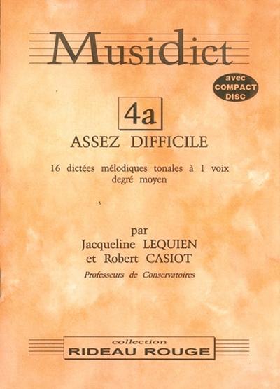 Musidict Cd 4A Moyen 1 Voix