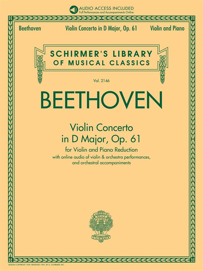 Violin Concerto in D Major, Op. 61