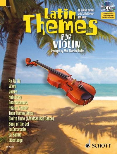 Latin Themes For Violin
