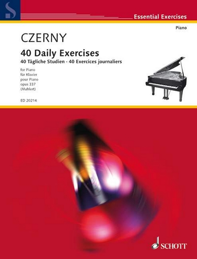 40 Daily Exercises Op. 337